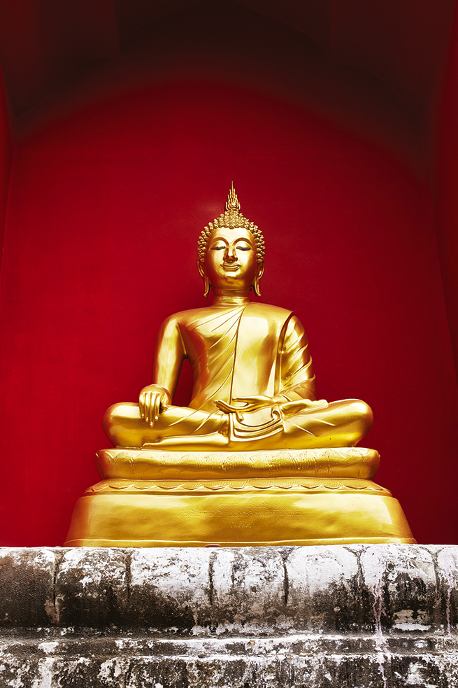 Buddha at Doi Suthep | image by Ewen Bell