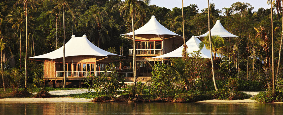 Resort of Soneva Kiri in Thailand