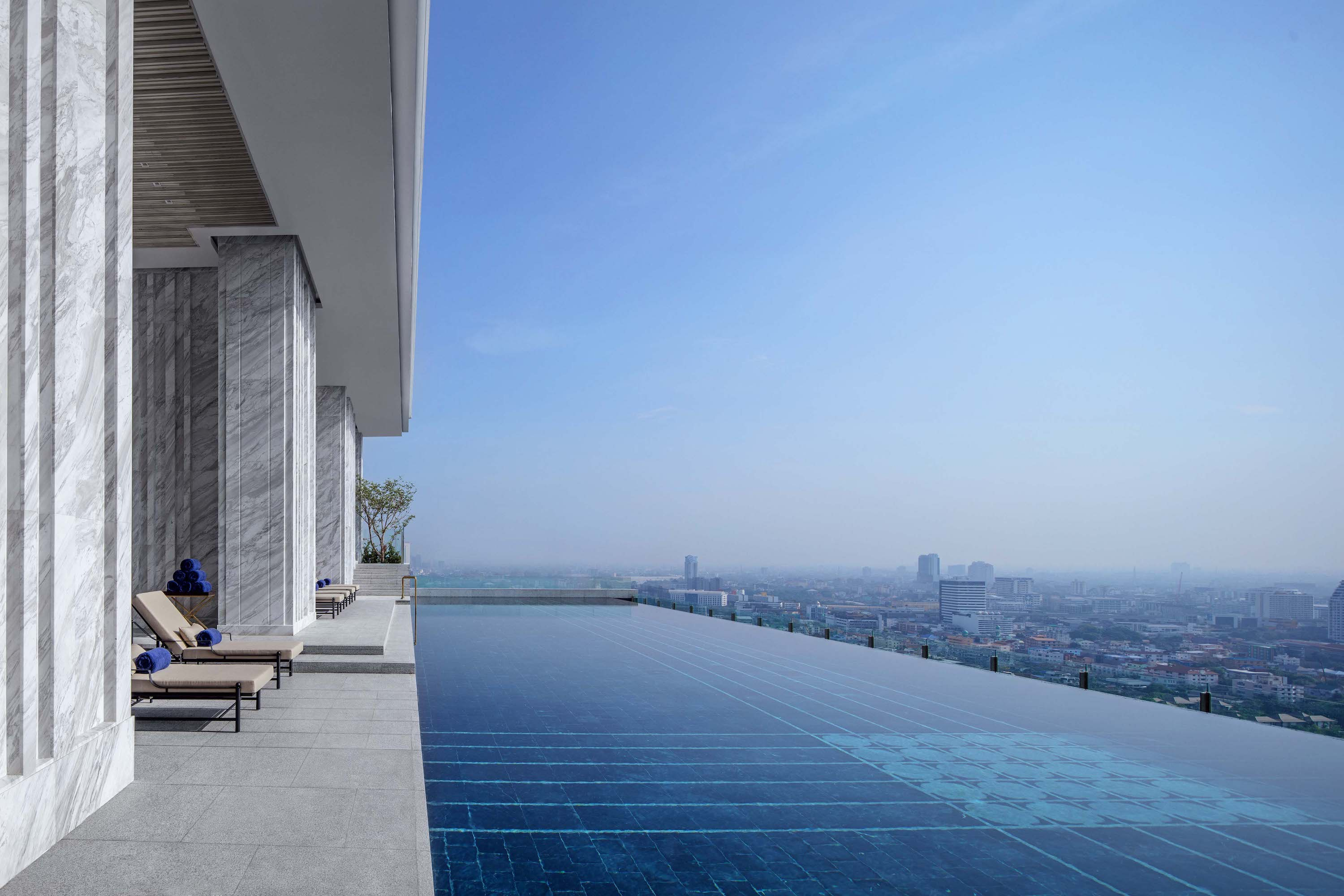 Infinity Sky Pool at the 137 Pillars Suites and Residences