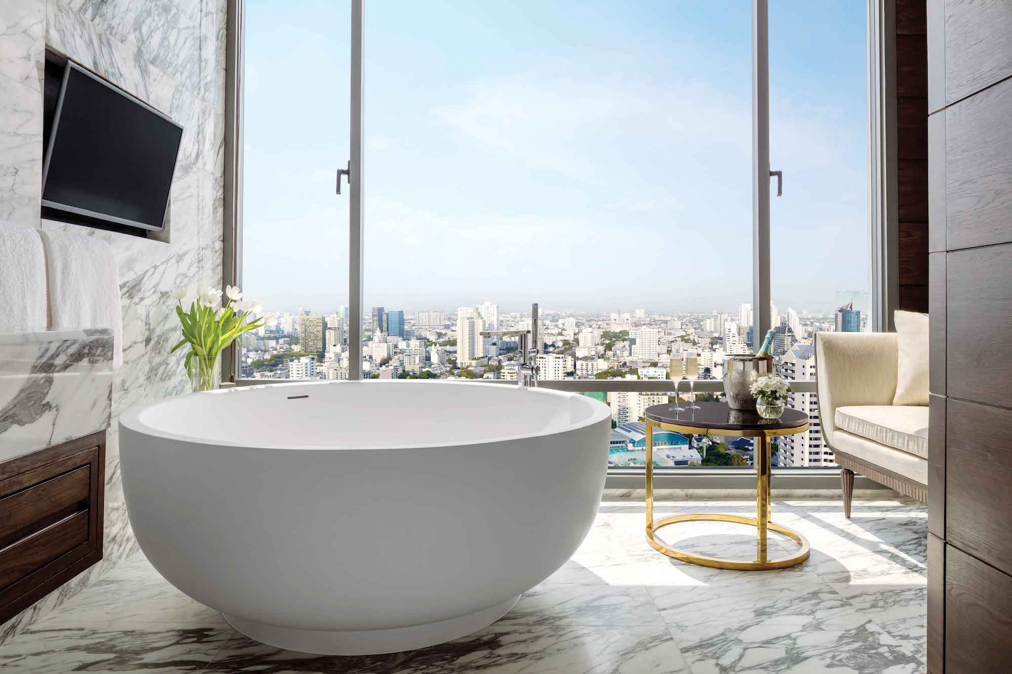 Suite at the 137 Pillars Suites and Residences in Bangkok