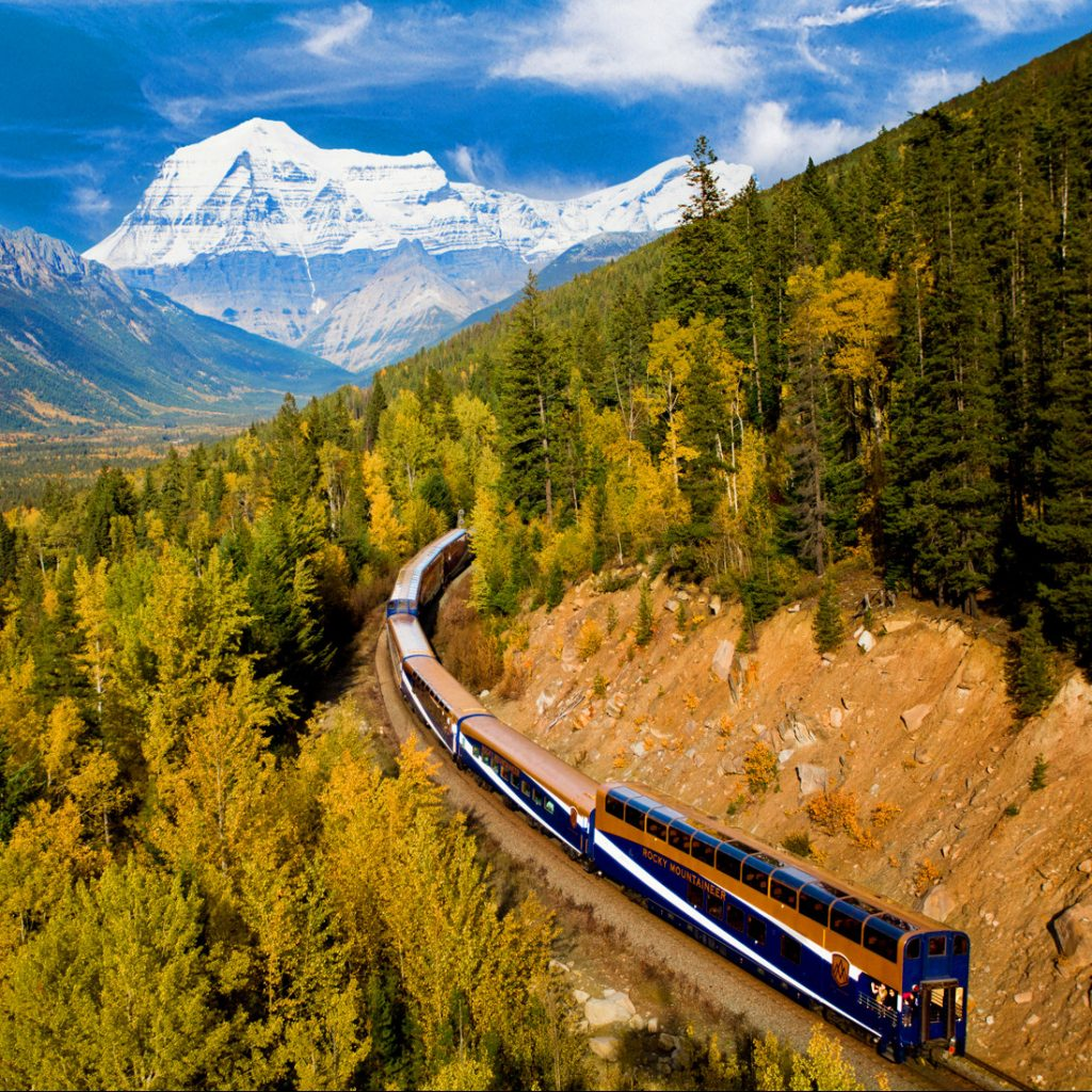 Rocky Mountaineer Train in Canada