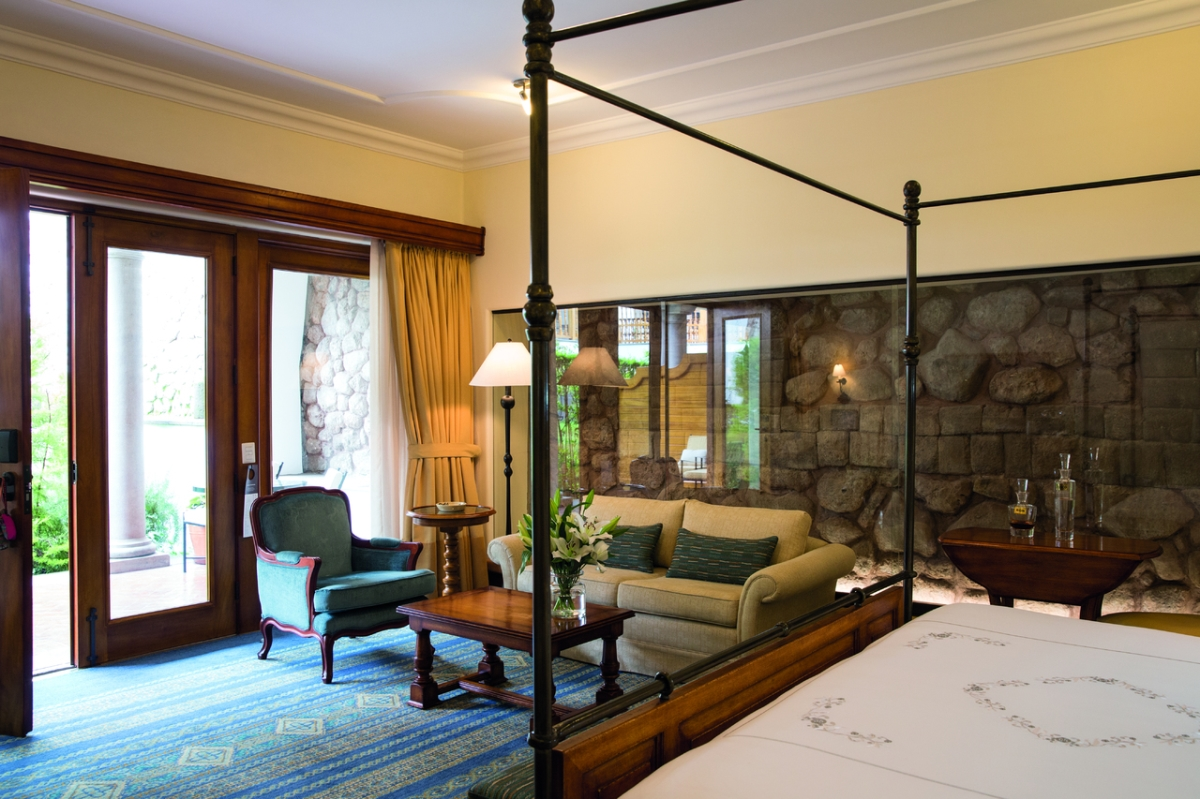 Suite at the Belmond Palacio Nazarenas