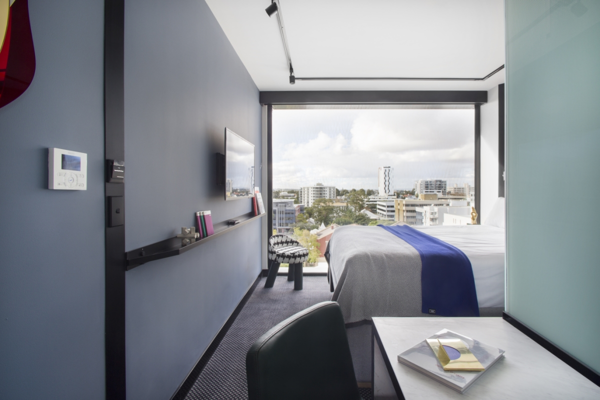 Suite at the TRIBE Hotel, Perth