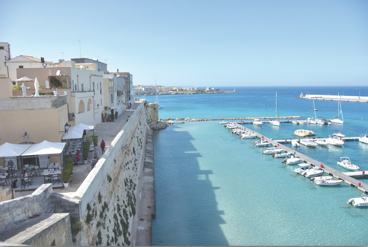 Otranto Harbour, Photo by Belinda Luksic