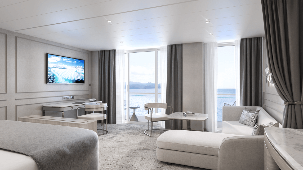 Crystal Endeavor –Penthouse Suite Bedroom