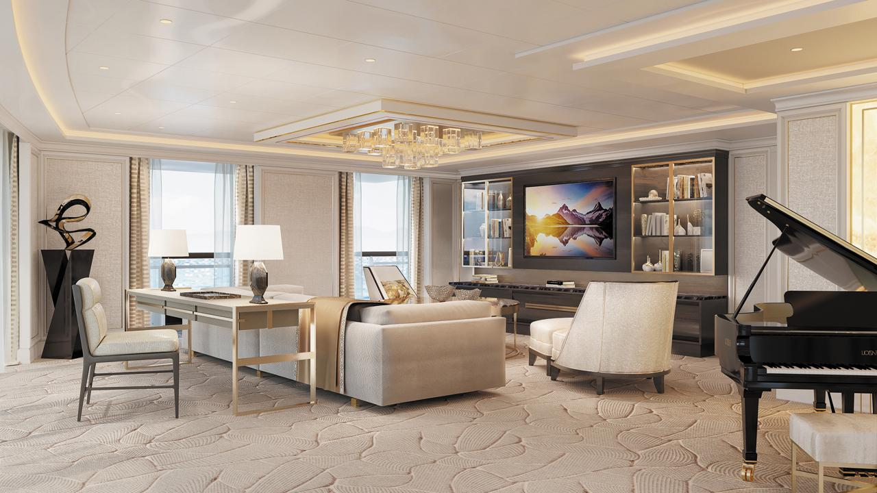 Regent Suite living room