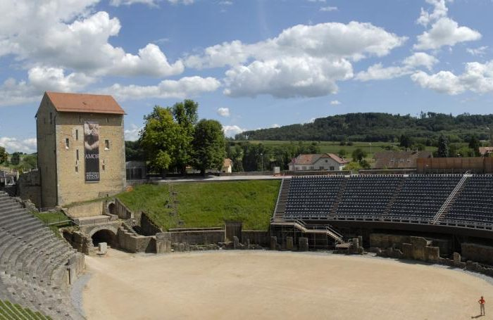 Avenches Roman Amphitheatre, Switzerland