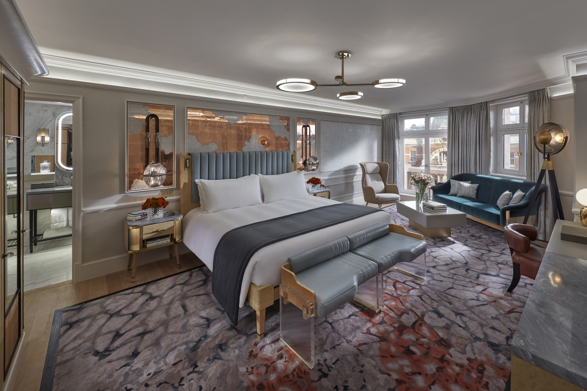 Knightsbridge Suite at the Mandarin Oriental Hyde Park, London
