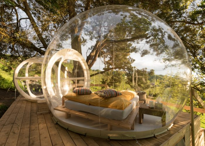 The Thurgau Bubble Hotel, Switzerland.