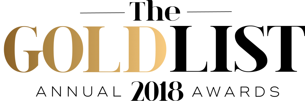 Gold List Awards 2018