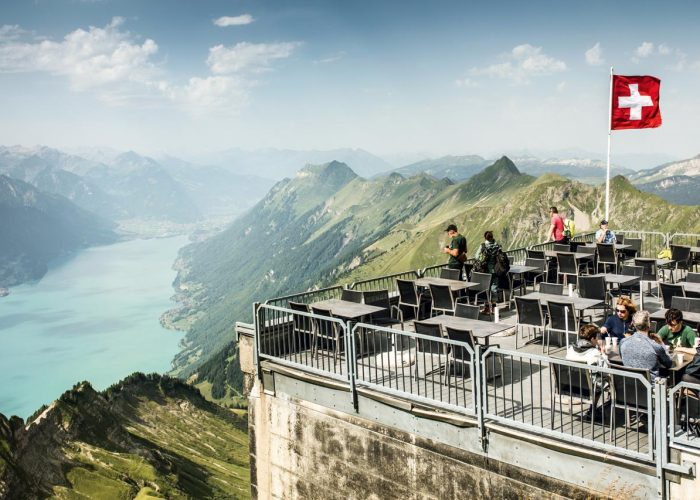 Brienzer Rothorn lookout terrace