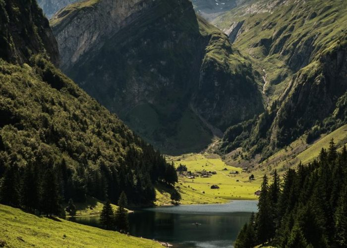 Appenzell – View of the Seealpsee