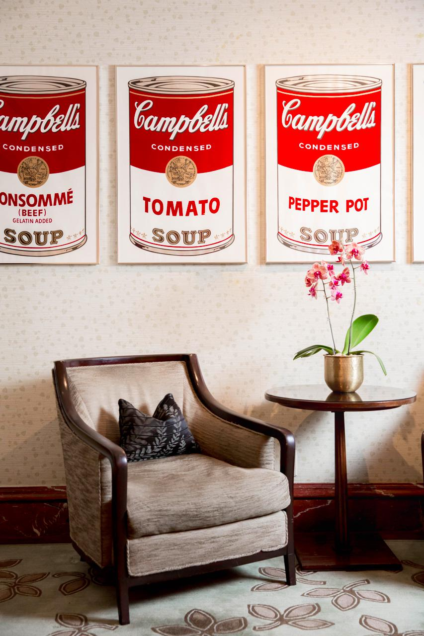 Andy Warhol's Pop Art Comes to The Peninsula New York