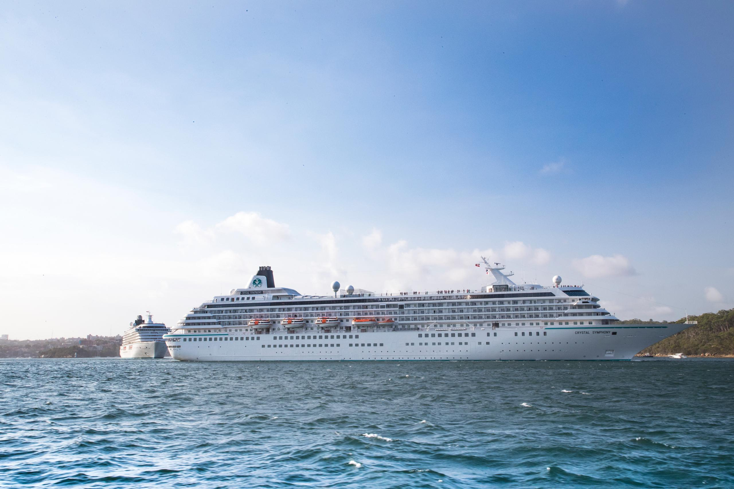 Crystal Symphony and Crystal Serenity 2021 Voyages Announced