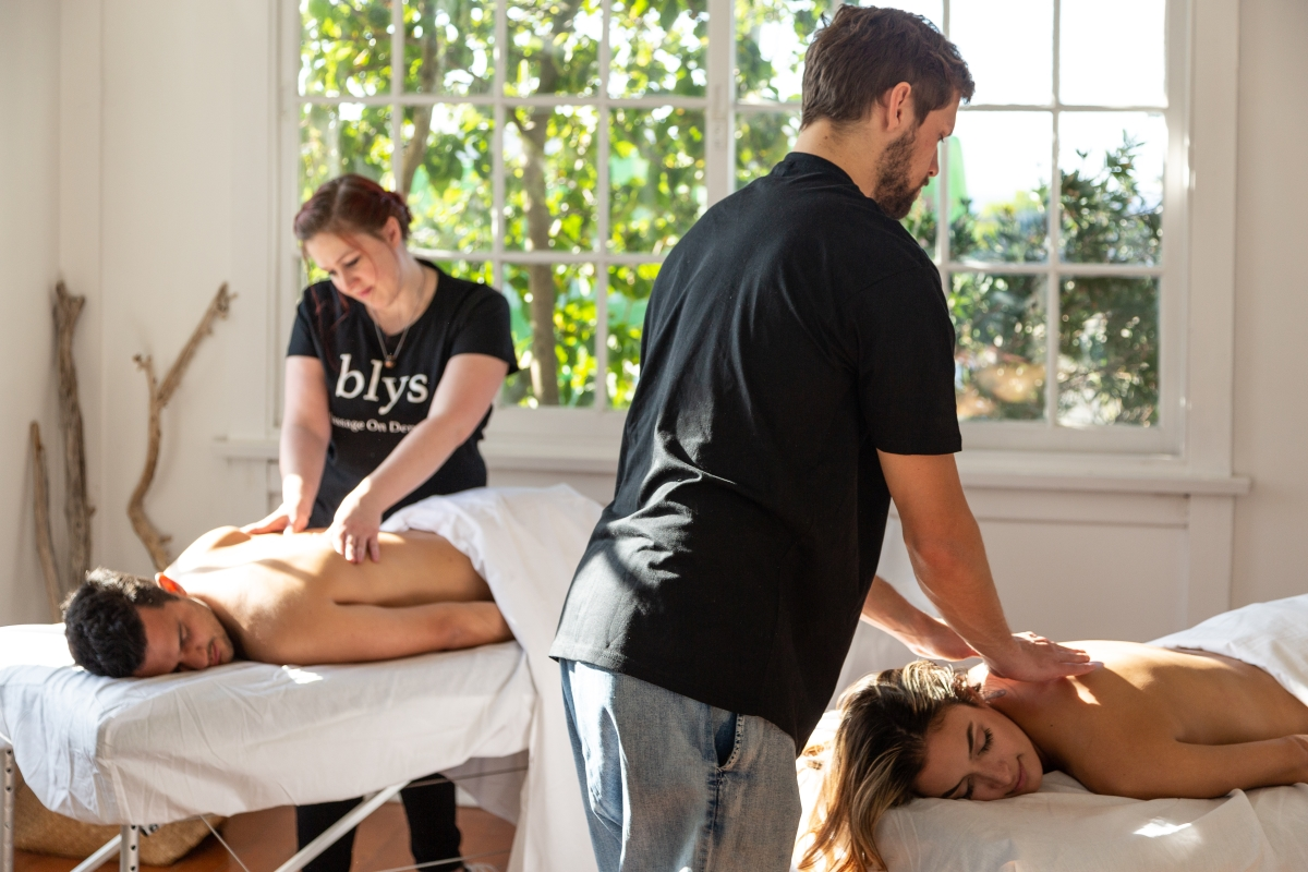 Blys Concierge in-room massage treatments