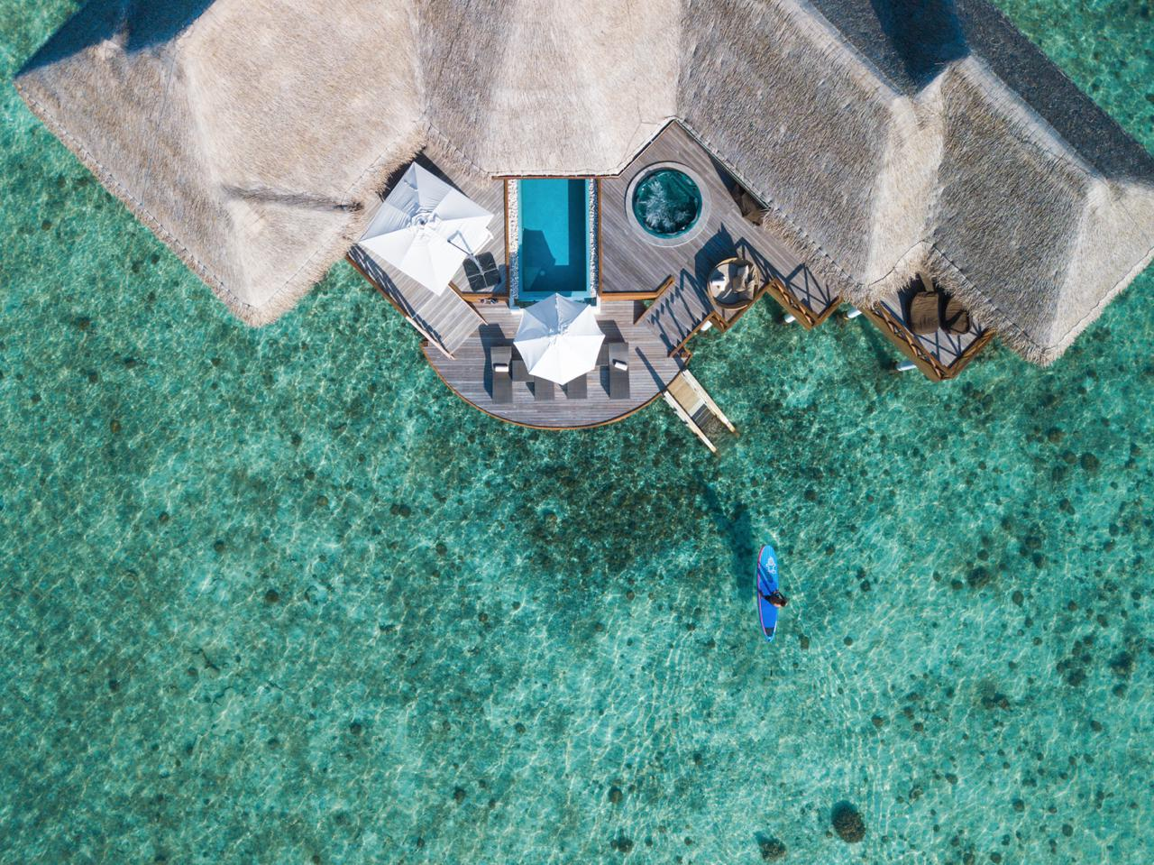 Huvafen Fushi - Two-bedroom Ocean Pavilion with private pool