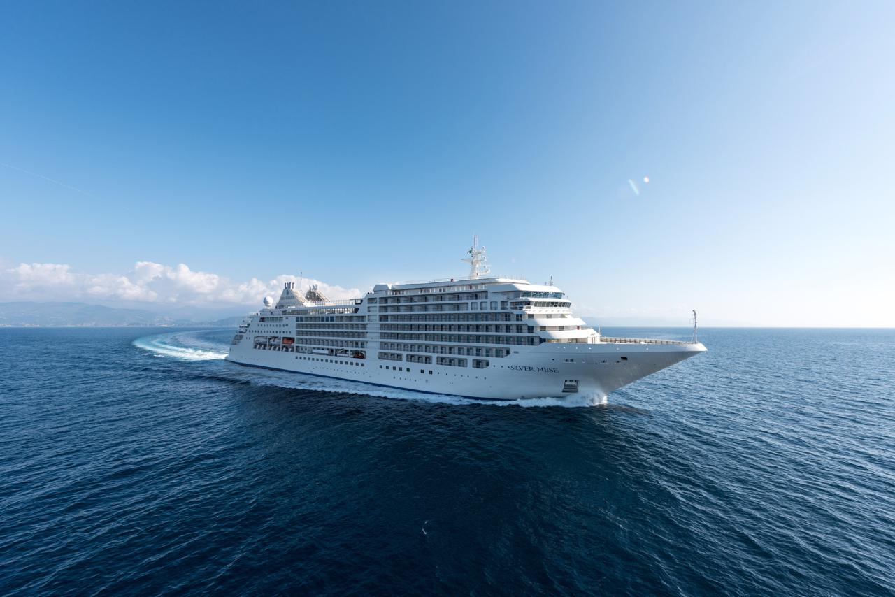 Silversea's Silver Muse Sails Into Sydney