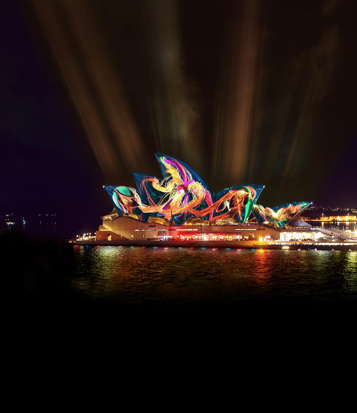 Vivid Sydney Partners Up With Pixar Animations for 11th Annual Light Extravaganza