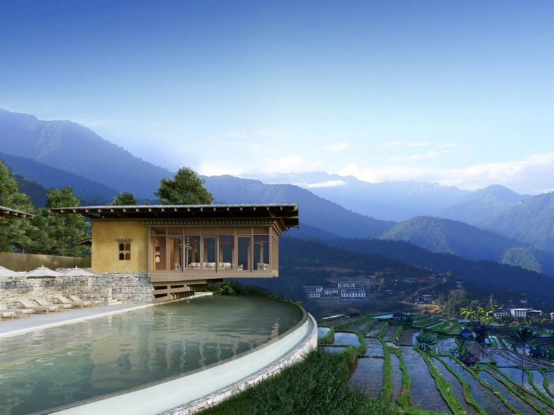 Punakha lodge main facilities at Six Senses Bhutan