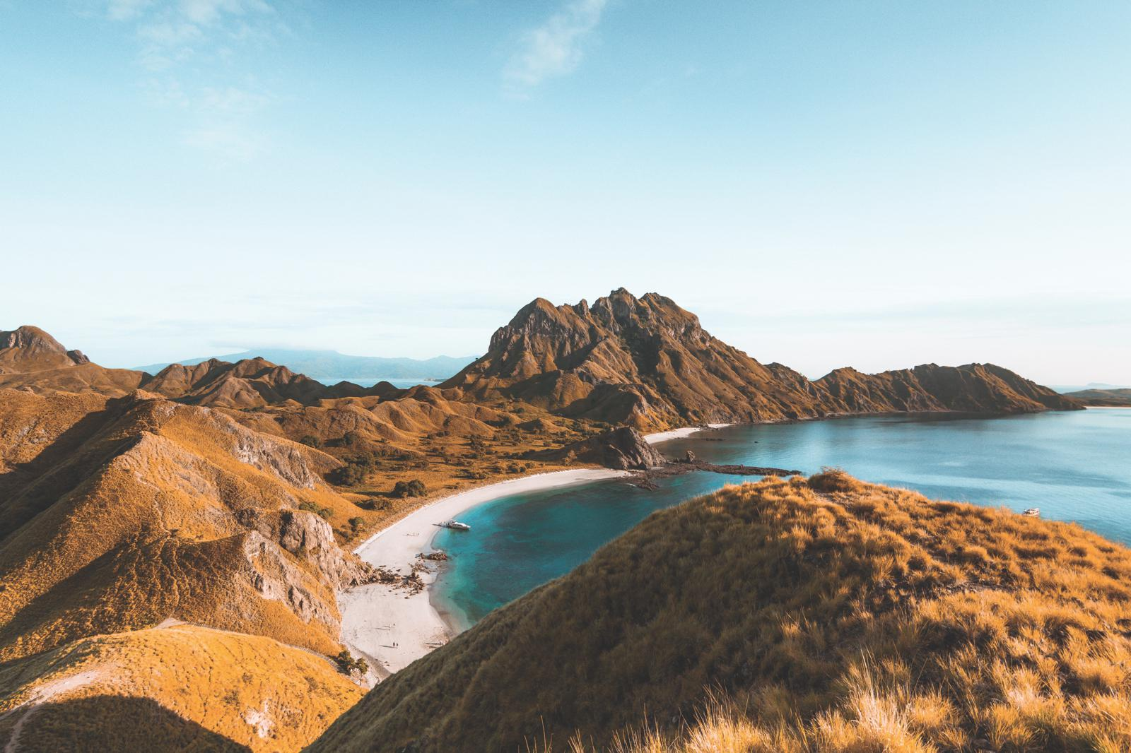 Padar Island in Indonesia – one of the three islands that make up the Komodo National Park.