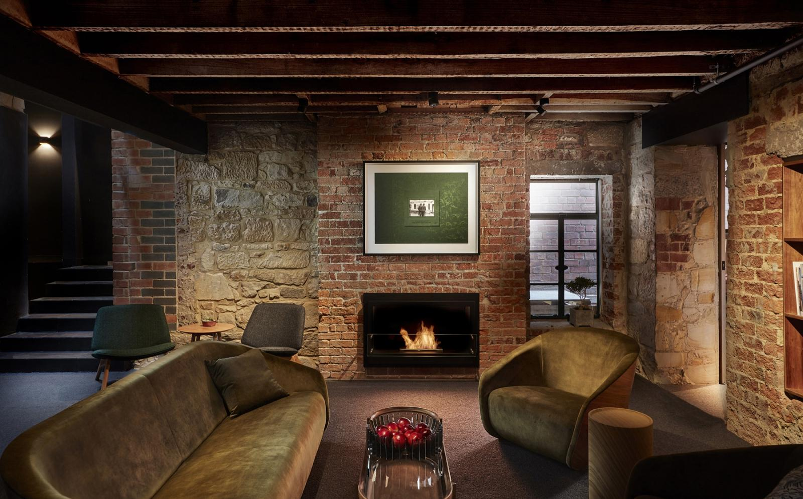 Oh-So-Cosy Moss Hotel Opens in Hobart