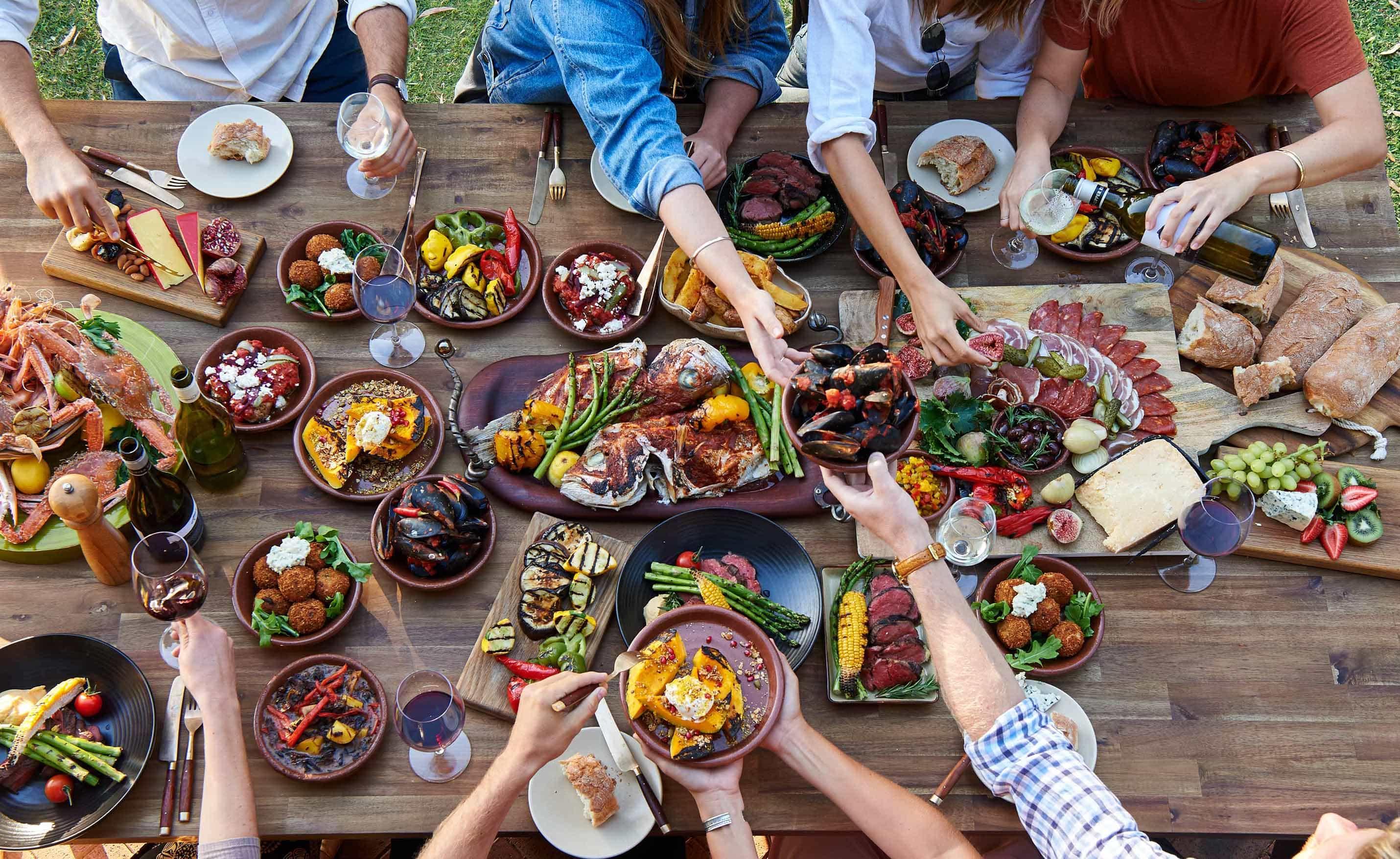 Swan Valley Food Gathering