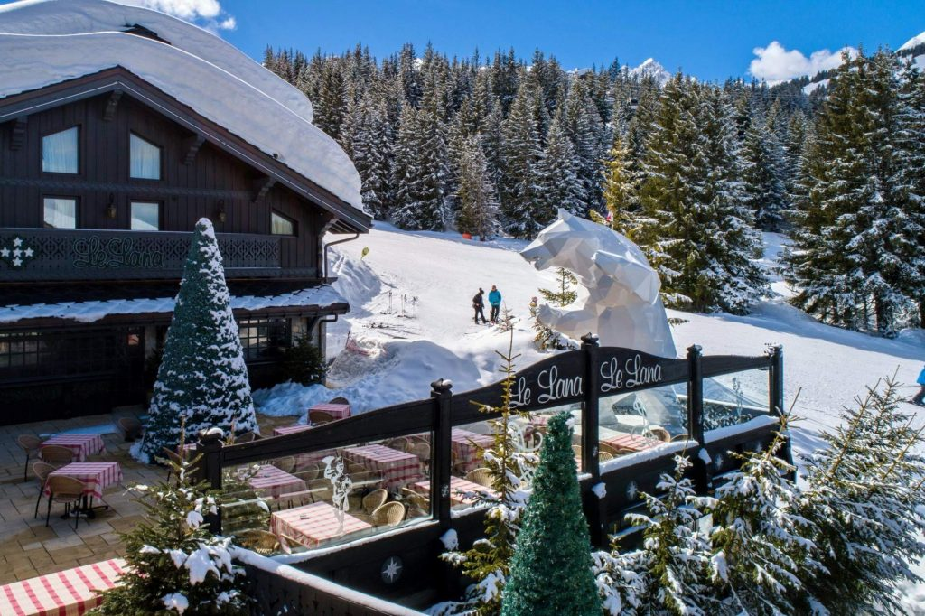 Hotel Le Lana, Courchevel, France