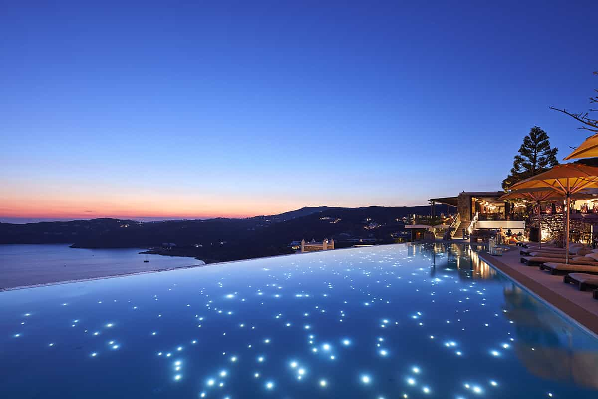 An Infinity Pool in the Myconian Collection
