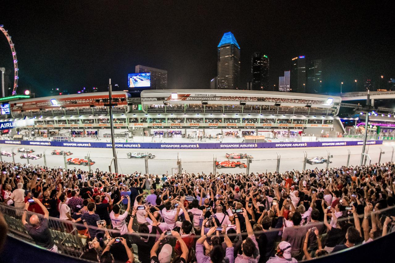 Where to get the VIP Experience at the Singapore Grand Prix