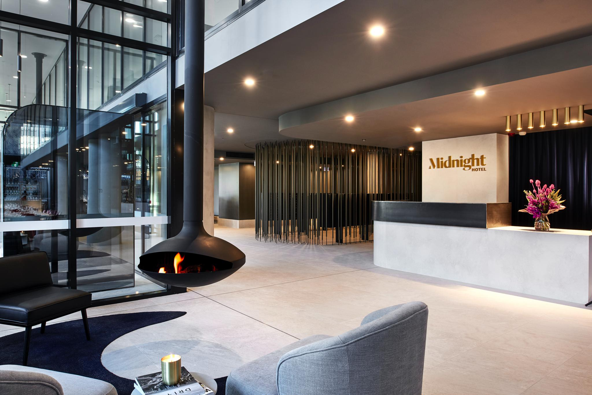 Canberra Welcomes Architectural, Moody Midnight Hotel