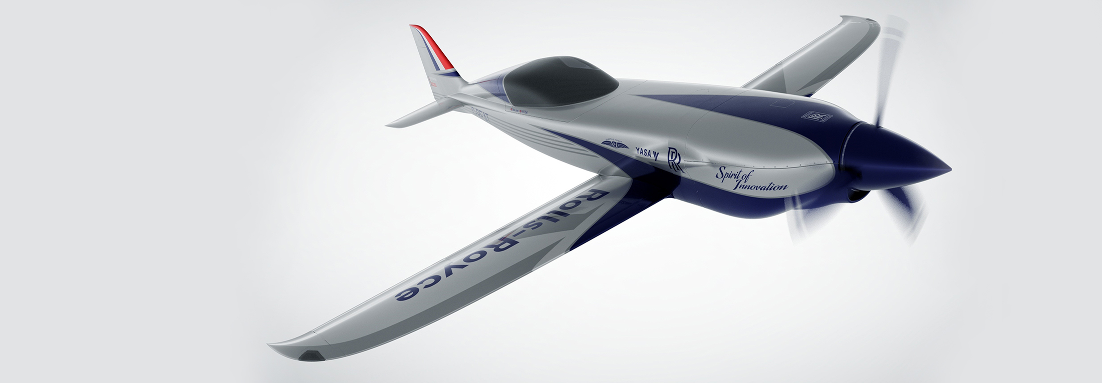 Rolls Royce all-electric aircraft illustration