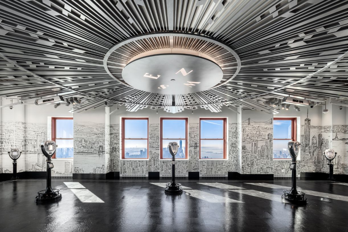 First Look at Empire State Building's Epic Observatory