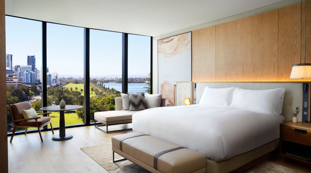 The Ritz-Carlton, Perth Deluxe King Room with chaise
