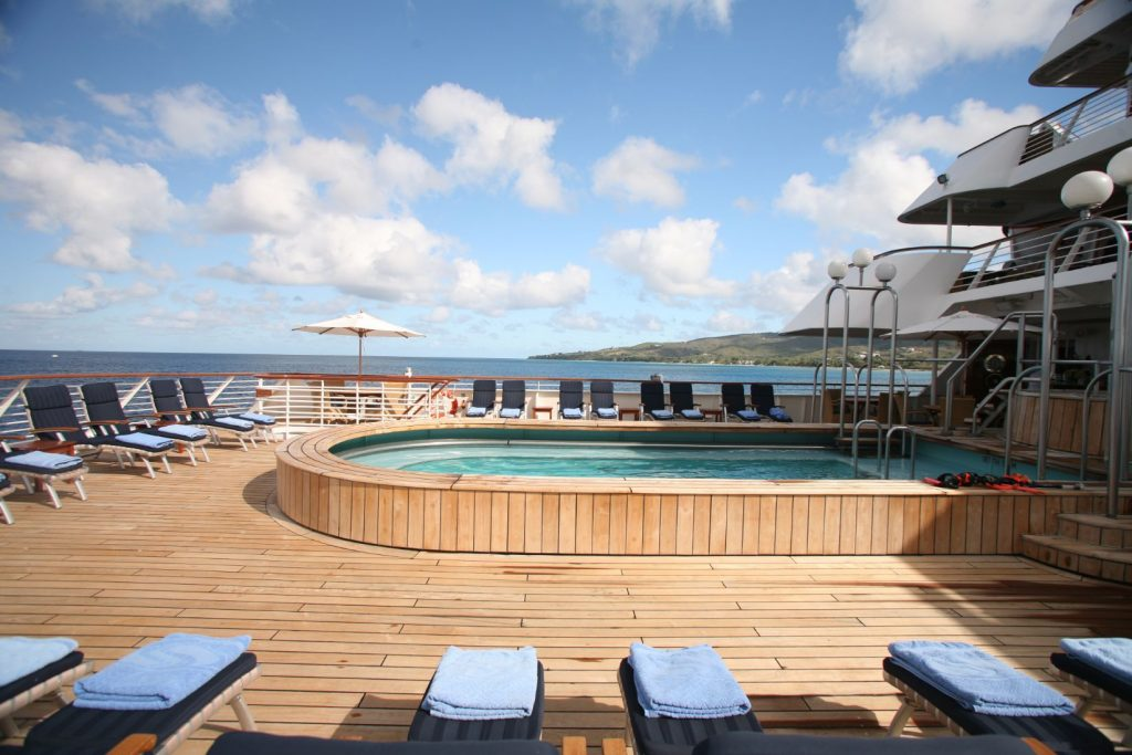 Pool and Sundeck on SeaDream