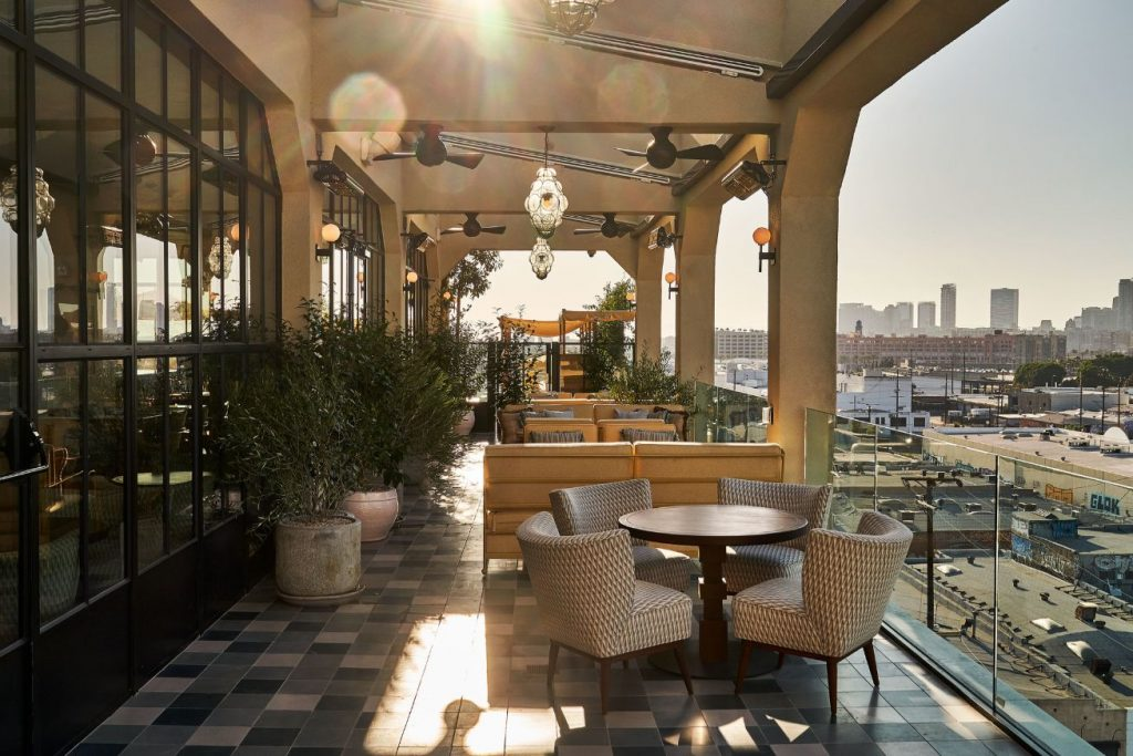 Rooftop at Soho House Downtown L.A.