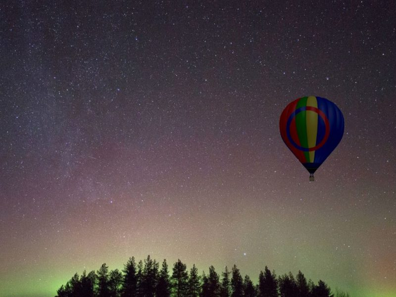 Lapland Ballooning with Off the Map Travel