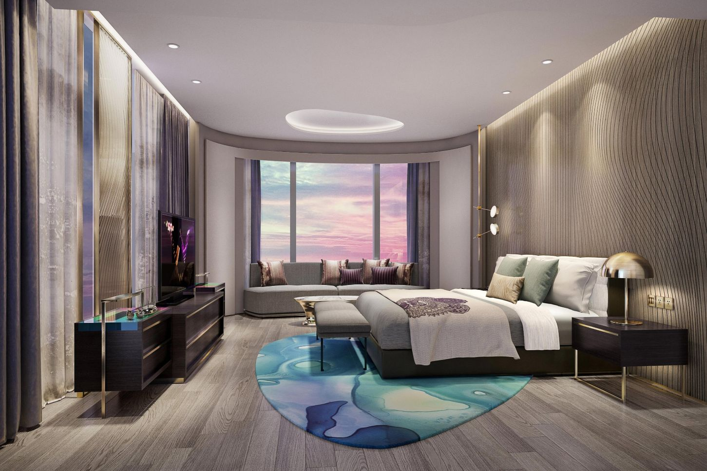 WOW King Suite at W Chengdu, China
