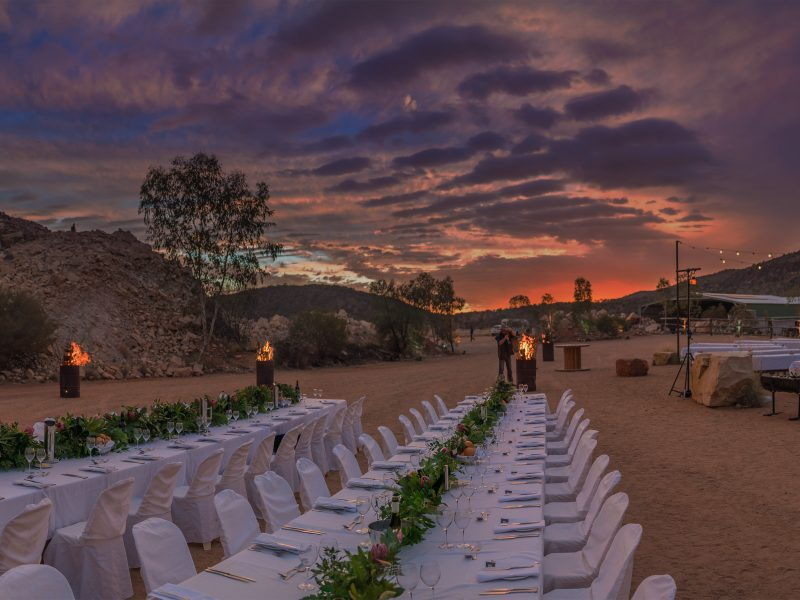 Parrtjima – Festival Of Light VIP Dinner